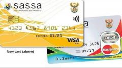 The new SAASA card as well as the old one
