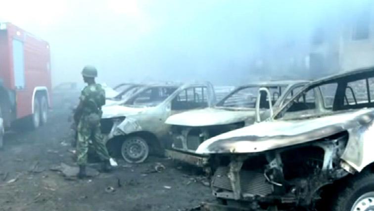 SABC-News-Screen-Grab-Cars-Burnt-DRC
