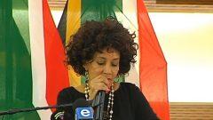 Lindiwe Sisulu speaking