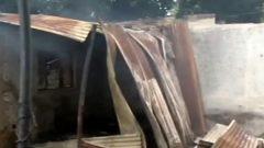Burnt buidling block
