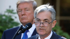 President Donald Trump and Jerome Powell.