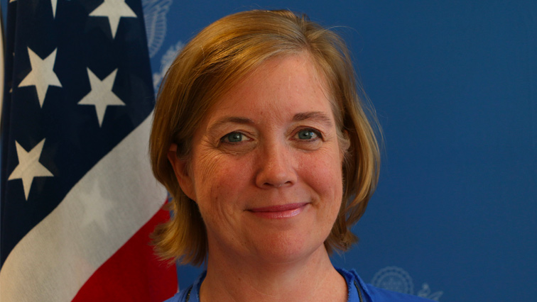US consul-general to South Africa Virginia Blaser smiling