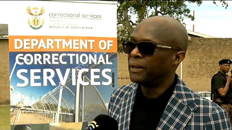 Thabang Makwetla spekaing to the SABC