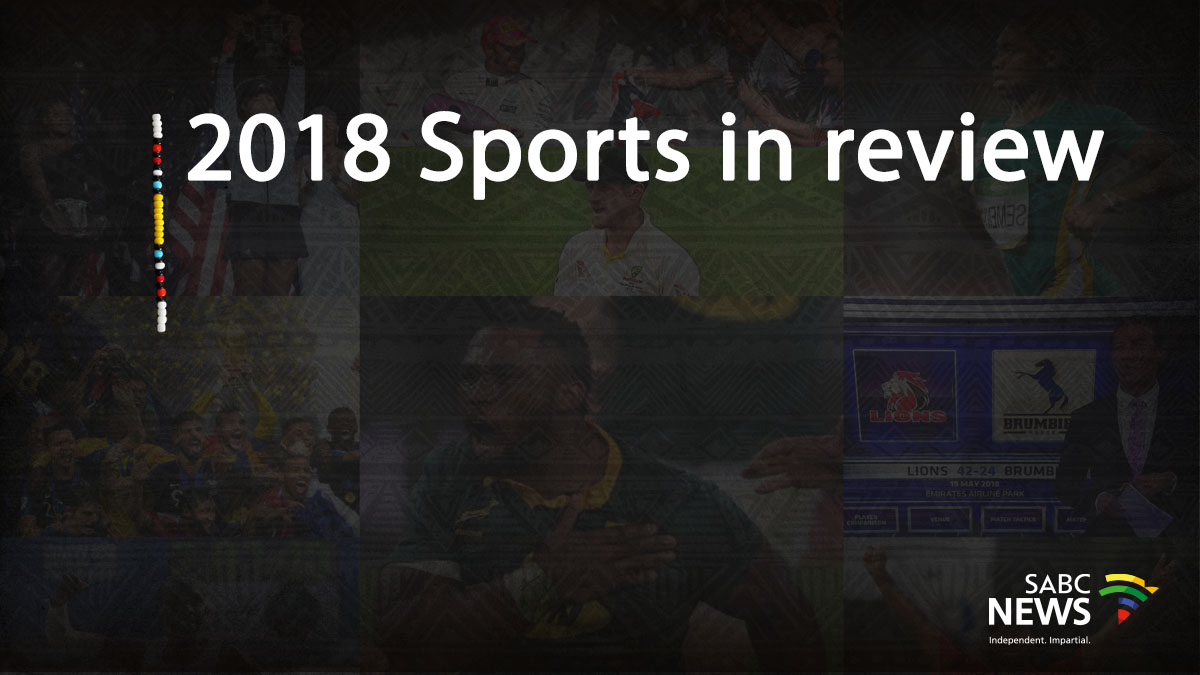Composite image of sports pics from 2018