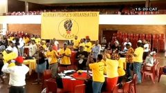AZAPO supporters gathered toether