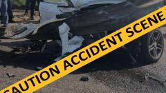 Accident caution