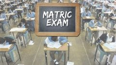 Matric learners writing exams