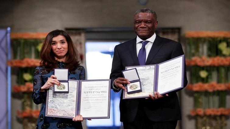 laureate Denis Mukwege and Joseph Kabila