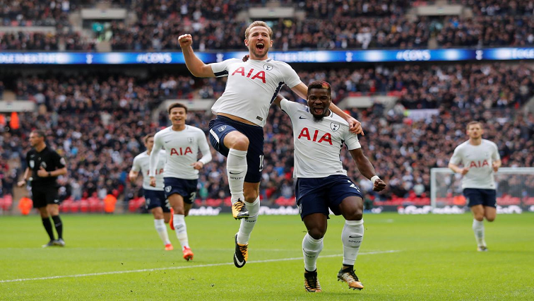 Tottenham Spurs celebrate