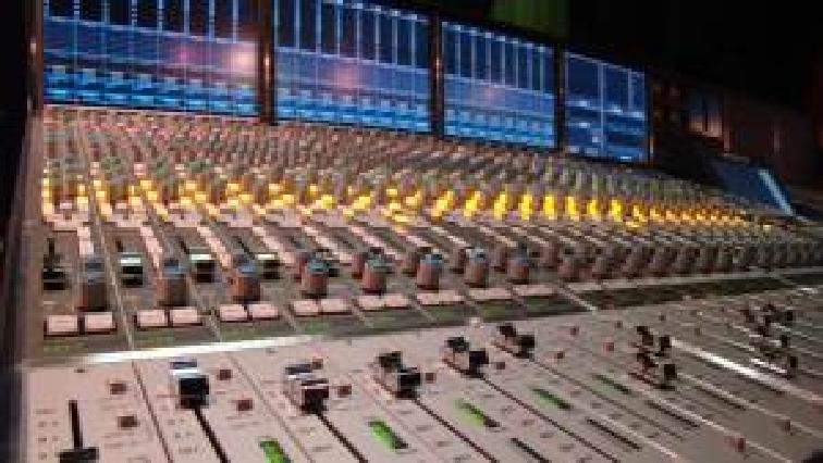SABC radio studio mixer