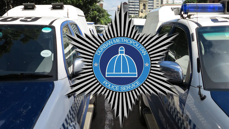 eThekwini logo and metro police cars