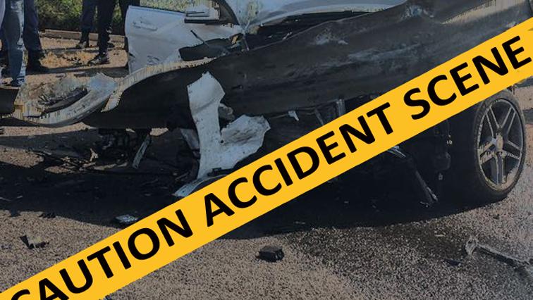 Accident scene yellow tape