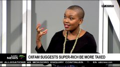 Oxfam SA Fellow on Research and Policy Basani Baloyi.