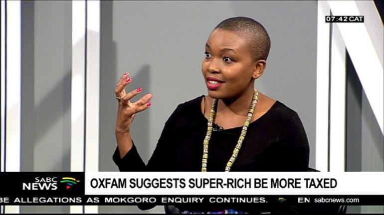 Oxfam SA Fellow on Research and Policy Basani Baloyi.