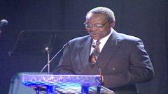 Jazz music presenter and radio legend Mesh Mapetla