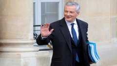 France Finance Minister Bruno Le Maire