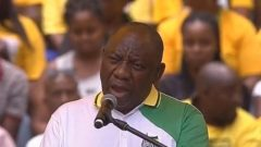 President Cyril Ramaphosa addressed poverty and unemployment during his speech at the launch the ANC 2019 Election Manifesto.