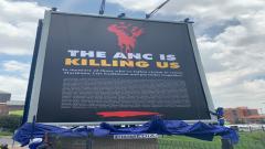 Controversial DA billboard