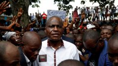 Martin Fayulu, runner-up in Democratic Republic of Congo's presidential election.