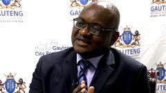 Gauteng Premier David Makhura