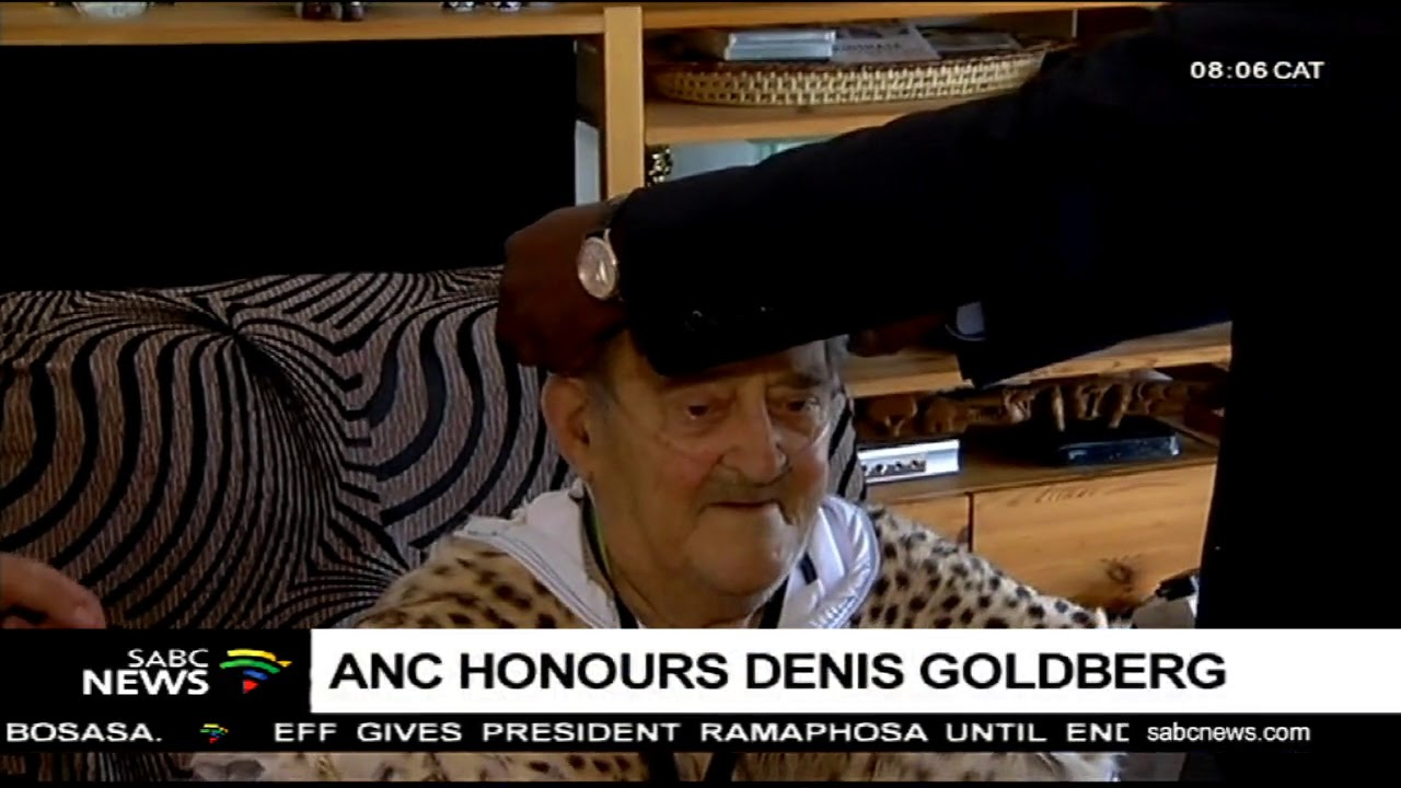 Rivonia Trialists Denis Goldberg.