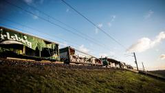 Calsberg train wreck