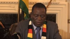 President Emmerson Mnangagwa announcing the fuel increase for Zimbabwe.