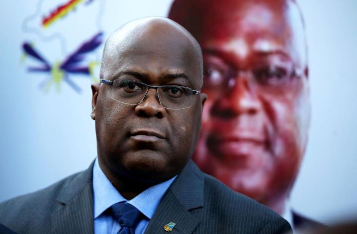 Felix Tshisekedi, leader of Congolese main opposition party, the Union for Democracy and Social Progress (UDPS).