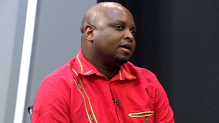 Floyd Shivambu,Deputy President of the EFF.