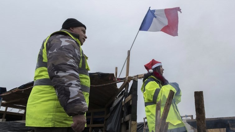 Yellow Vest protestors