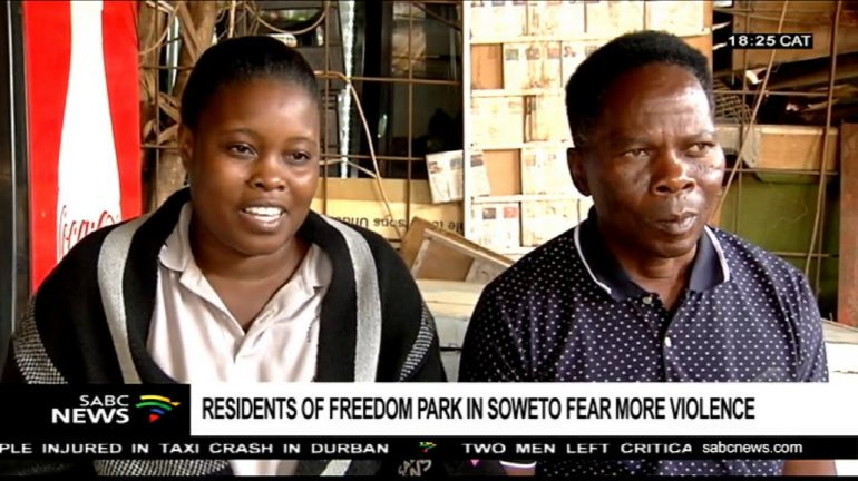Freedom Park residents.