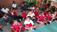 Grade one pupils.