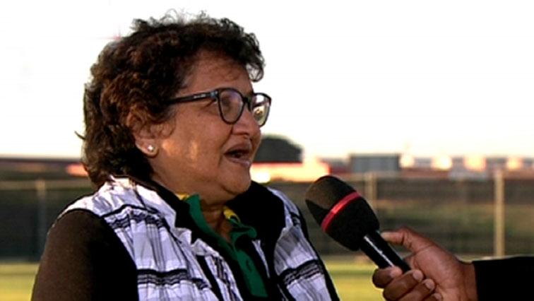 ANC Deputy Secretary General Jessie Duarte.