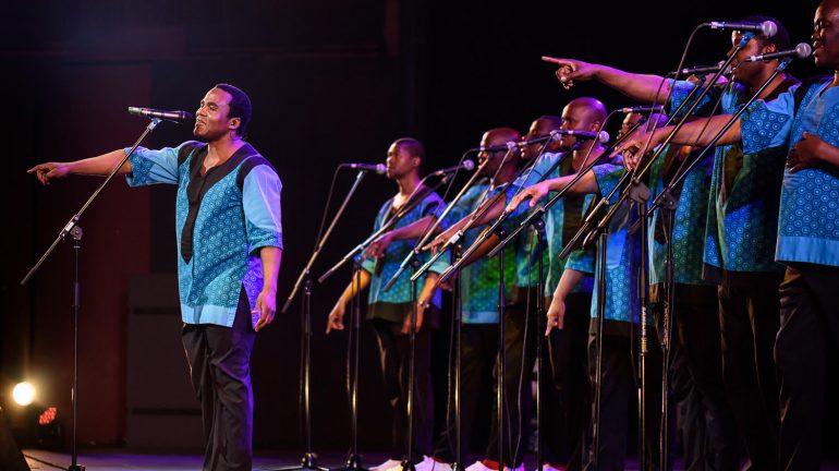 Ladysmith Black Mambazo performing