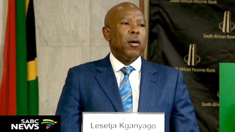 Reserve Bank Governor Lesetja Kganyago.
