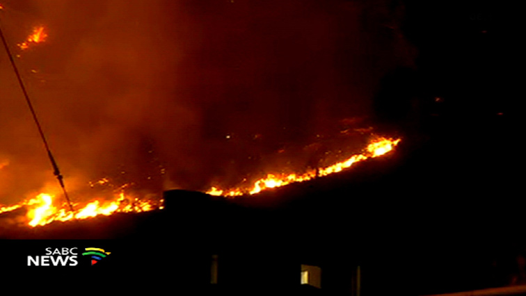 Lions Head and Signal Hill fire