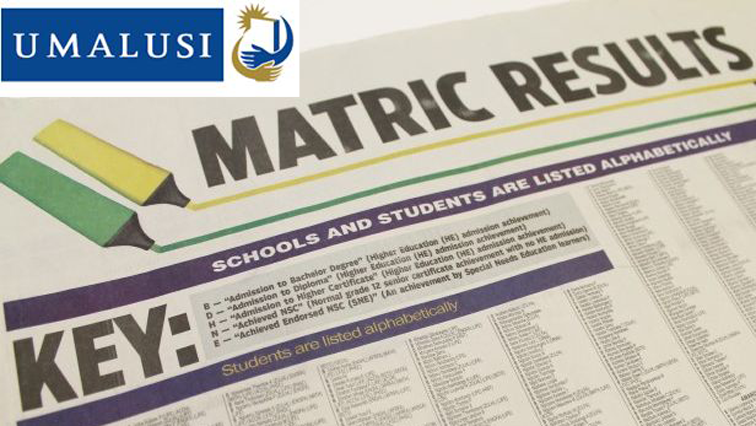 Matric Results newspaper