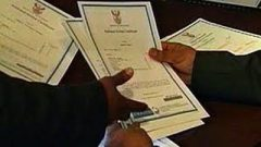 Students with matric certificates