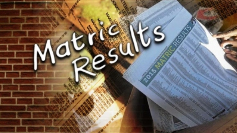 Newspaper with matric results