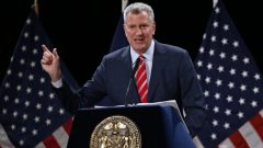 New-York City Mayor Bill de Blasio