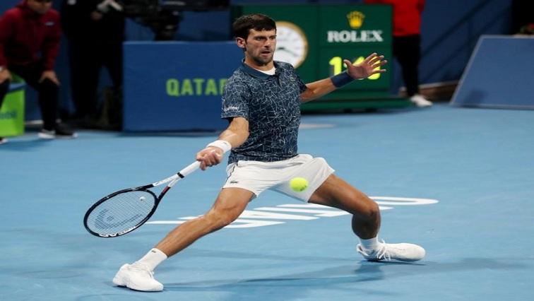 Serbia's Novak Djokovic