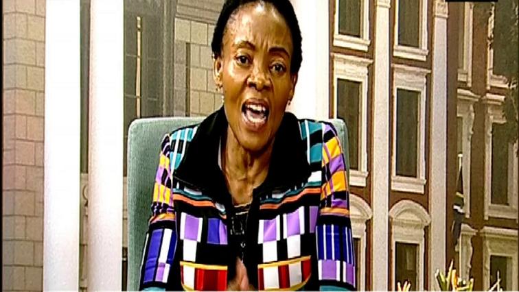 Deputy Communications Minister, Pinky Kekana