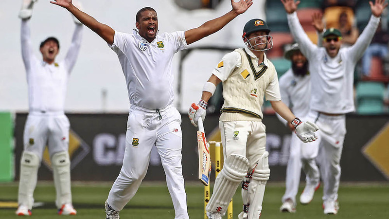Proteas celebrating victory