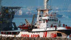 The Spanish charity boat