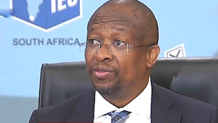 IEC's CEO Sy Mamabolo.