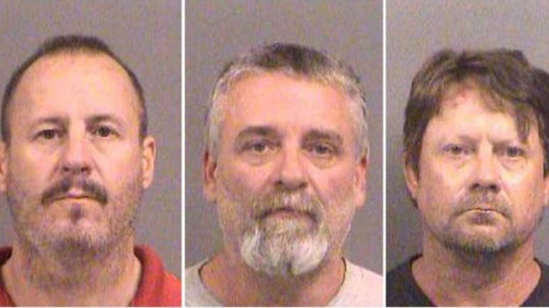 Curtis Allen 49, Gavin Wright, 49 and Patrick Eugene Stein, 47