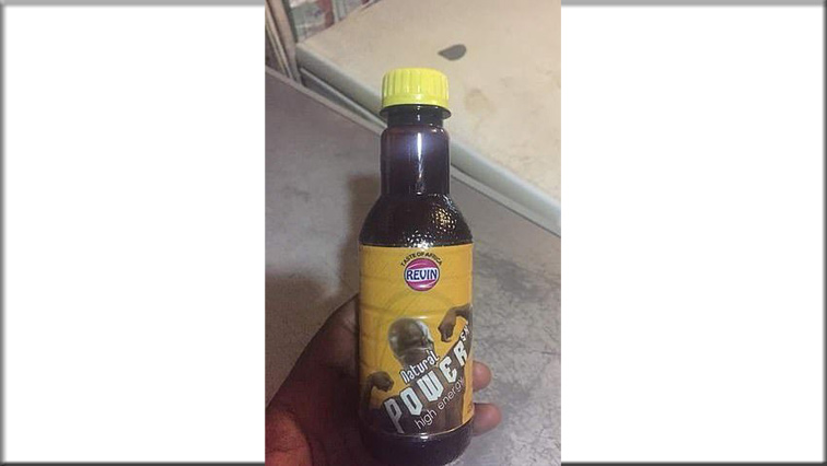 SX Energy Natural Power drink