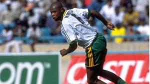 Former Bafana Bafana striker Phil 'Chippa' Masinga
