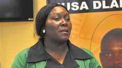 Provincial ANC Spokesperson, Nomagugu Simelane-Zulu