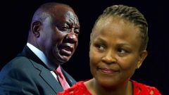 Ramaphosa and Mkhwebane